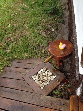 Eco-Pousada Casa Bobo : Outdoor tap