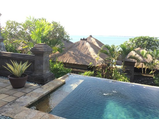 Four Seasons Resort Bali at Jimbaran Bay: Your villas private plunge pool with ocean view