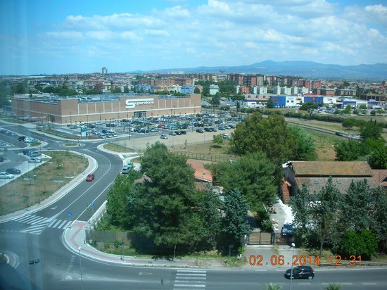 Enea Hotel Aprilia: Panorama dal 7° piano