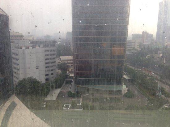 Gran Melia Jakarta: room view