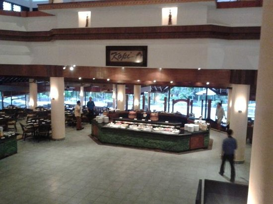 Bintan Lagoon Resort: The Kopi-O restaurant
