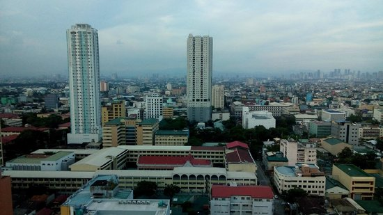 Pan Pacific Manila : View from the lounge