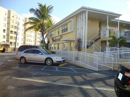 Beach Place Hotel: Recepção do Hotel...