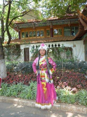 Green Lake (Cui Hu): little girl