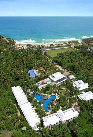 Horizon Karon Beach Resort & Spa: Arial View