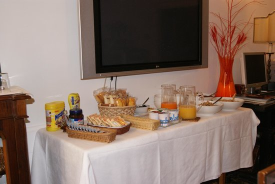 Al Teatro Bed & Breakfast: Selection for Breakfast there is more