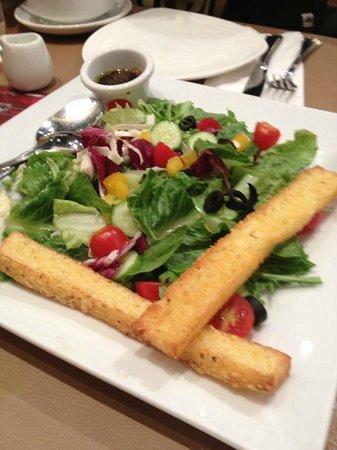 Pizza Hut: salad
