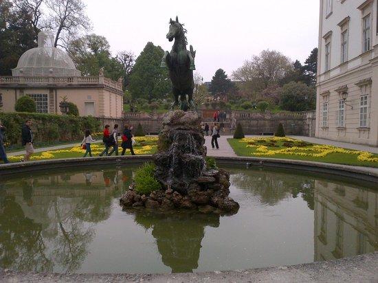 Sheraton Grand Salzburg: mirabell gardens