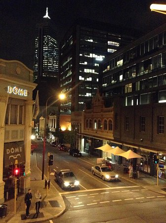 The Melbourne: From the Balcony