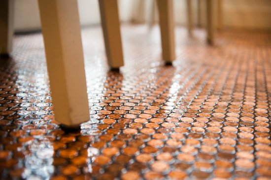 Our Penny Tiled Floor Picture Of Brimmer Heeltap Seattle