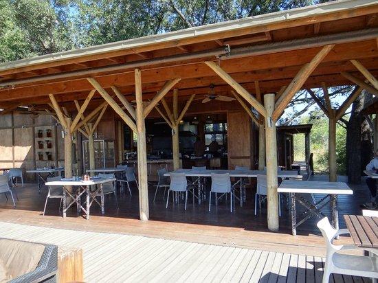 andBeyond Xudum Okavango Delta Lodge : Dining Area