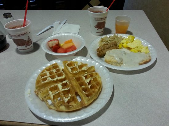 Sleep Inn & Suites: A little Breakfast