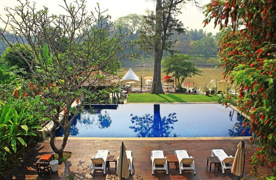 Lanna Dusita Boutique Resort by Andacura: Pool & Ping River
