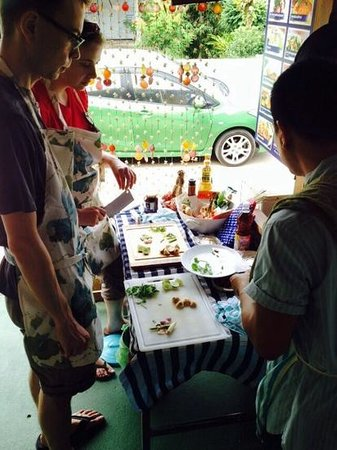 PrivateThai cooking lesson at Sandwich Me