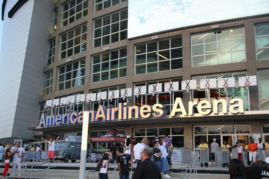 American Airlines Arena: Entrada...