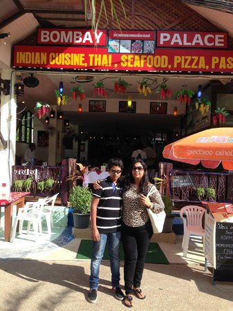 Bombay Palace: Loved the food