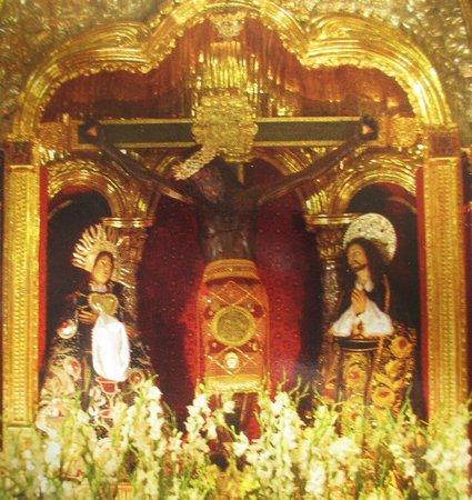 Catedral del Cuzco o Catedral Basílica de la Virgen de la Asunción: Señor de los Temblores