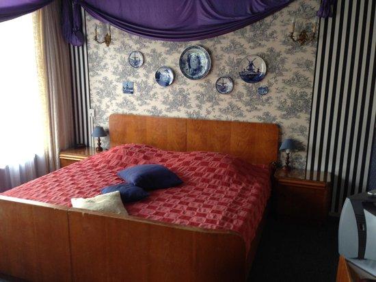 City Hotel Nieuw Minerva: Delfsblauwe kamer