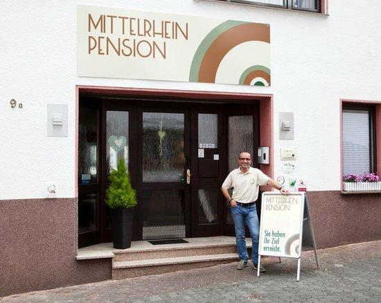 Mittelrhein Pension: Eingangsbereich