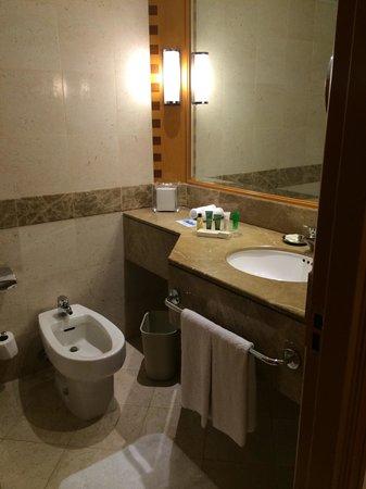 Hilton Dubai The Walk: The bathroom