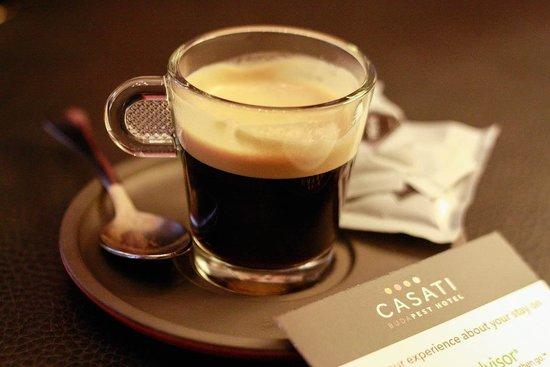 Casati Budapest Hotel : An Espresso Welcome