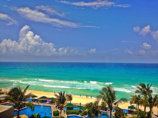 Royal Solaris Cancun: Ocean view room!