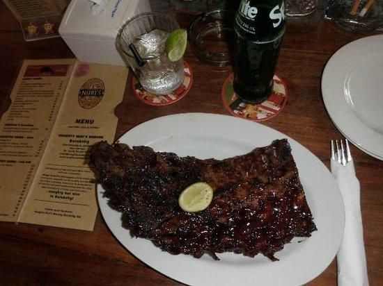 Naughty Nuri's: ribs