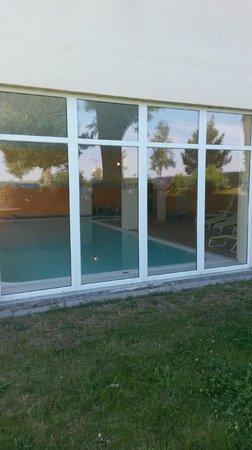 Land-gut-Hotel Hermann: Swimming pool area