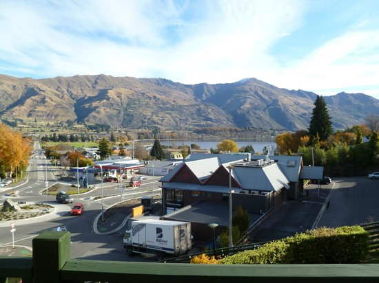 Wanaka Heights Motel: view of Wanaka