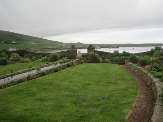 Quoy of Houton: View of the bay from the garden