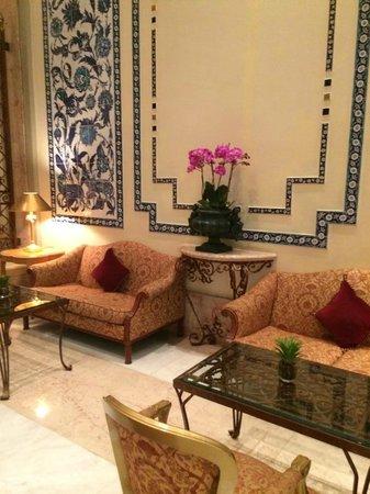 Ciragan Palace Kempinski Istanbul : Hall d'entrée
