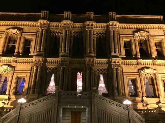 Ciragan Palace Kempinski Istanbul: Le restaurant dans le Palace