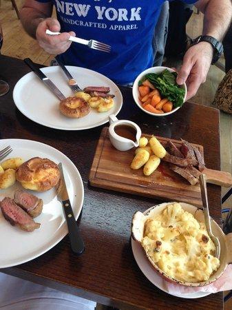 Blue Print Cafe: Roast Beef