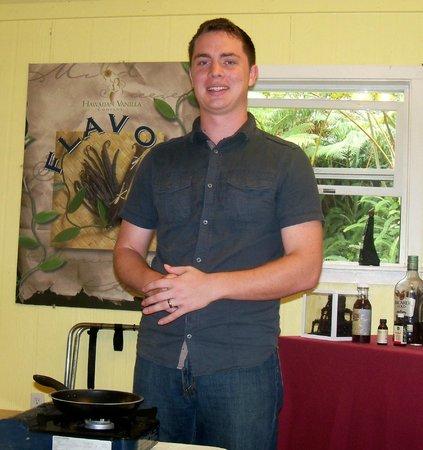 Hawaiian Vanilla Company : Ian (owners son)