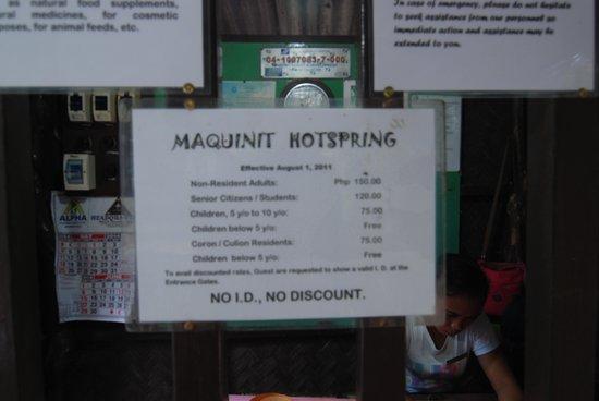 Maquinit Hot Spring: maquinit Hotspring