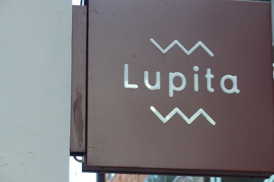 Lupita Mexican Restaurant: Lupita sign
