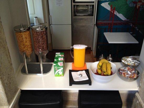 Salitre Hostel : Breakfast :)