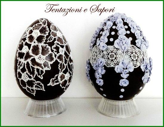 Uova di pasqua decorate a mano realizzate con i migliori - Pasqua uova decorate ...