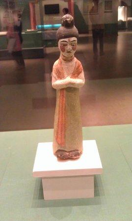 Xinjiang Regional Museum (Qu Bowuguan): Pretty lady