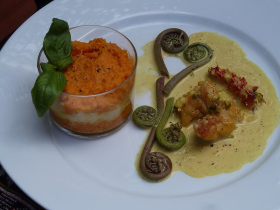 Au Jardin d'Antanimena : petite merveille du restaurant