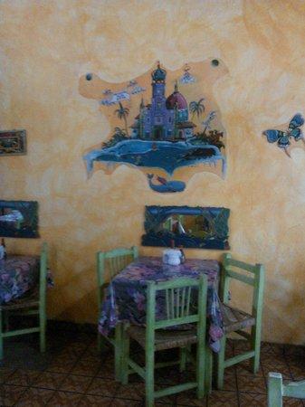 Planeta Vegetariano: Decoracion en la pared linda.