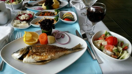 Annabella Diamond Spa & Hotel: Рыбный ресторан