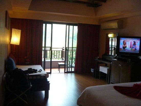 Krabi Cha-Da Resort: Room View