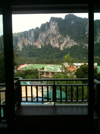 Krabi Cha-Da Resort: View out from room
