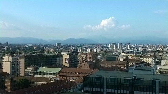 UNA Hotel Century: Uitzicht vanuit de kamer