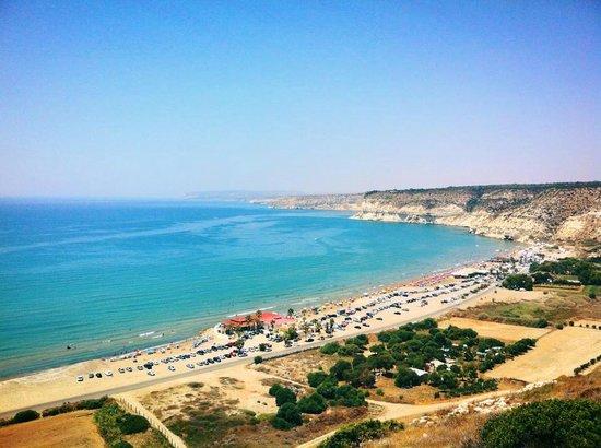 Kourion (Curium): Вид с Kurion