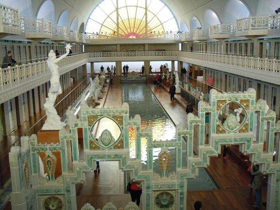 Musée La Piscine : Le bassin