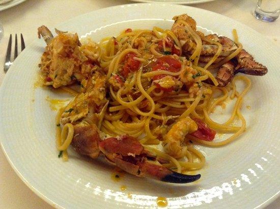 La Risacca 2: Linguini w/ Spiny Crab