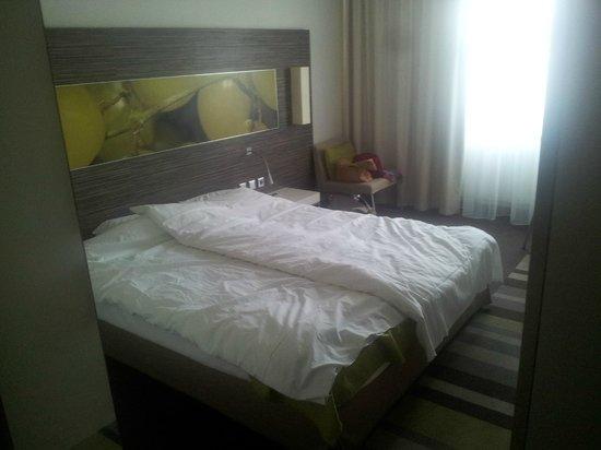 Mercure Hotel Koblenz : Zimmer.