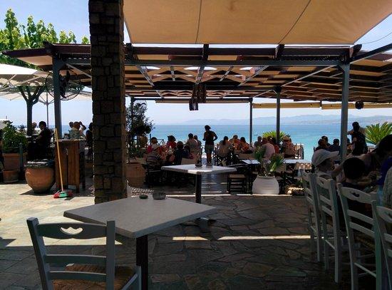 Lee Beach Cafe Bar: Our view